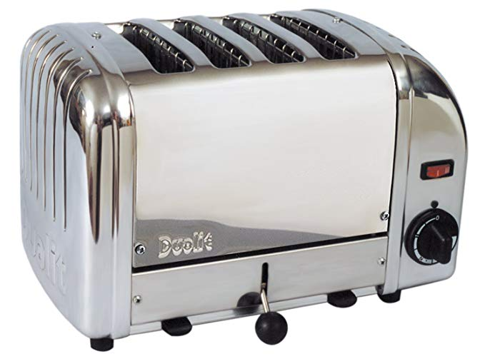 An image of Dualit CTS-4 1750W Stainless Steel Toaster