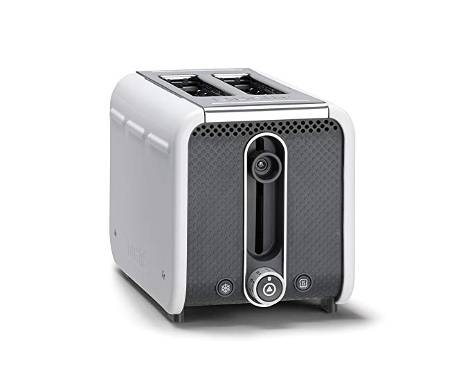An image related to Dualit 1200W 2-Slice White 9-Mode Toaster