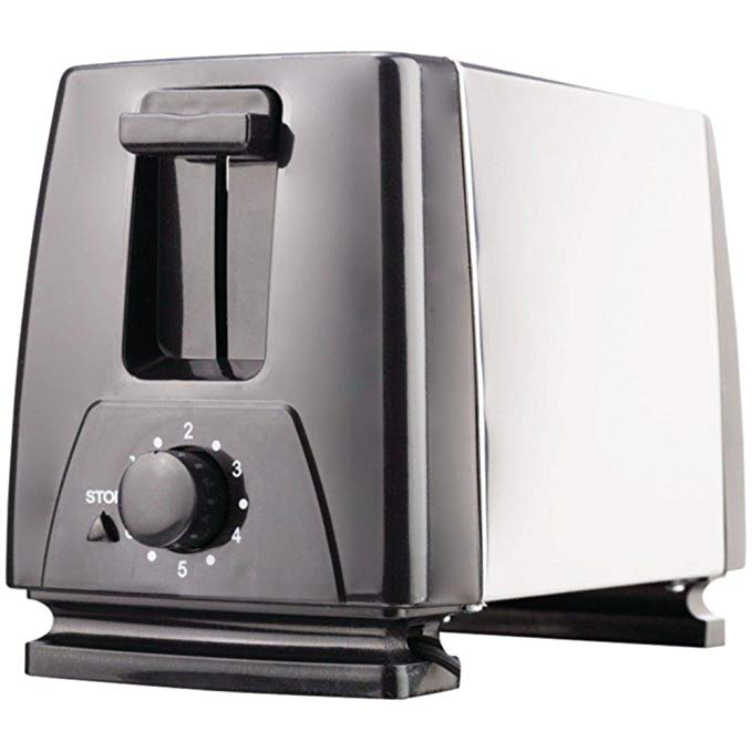 An image of Brentwood BTWTS280S 2-Slice Black 6-Mode Toaster