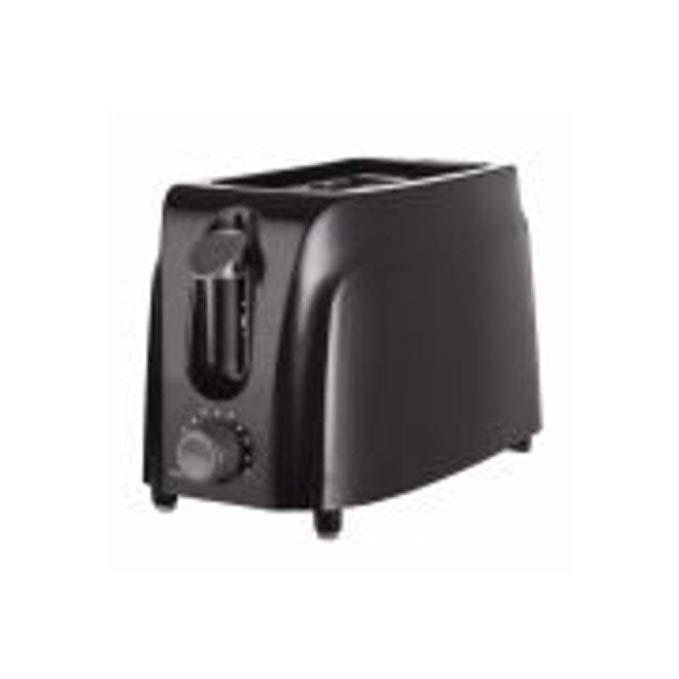 An image of Brentwood TS260B 2-Slice Black 7-Mode Cool Touch Wide Slot Toaster