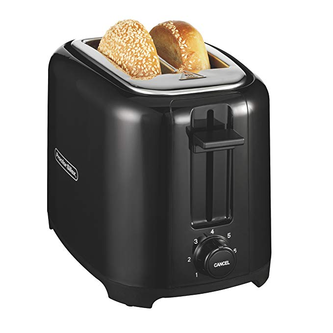 An image related to Proctor Silex 2-Slice Black 7-Mode Cool Touch Wide Slot Toaster