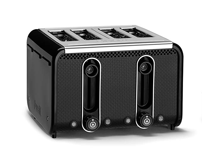 An image of Dualit 4-Slice Black 9-Mode Toaster