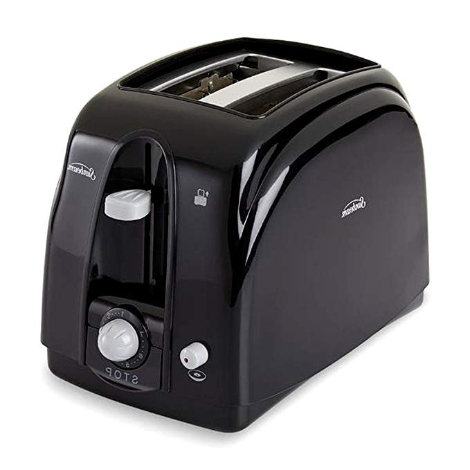An image related to Sunbeam Stainless Steel 2-Slice Black 7-Mode Cool Touch Toaster