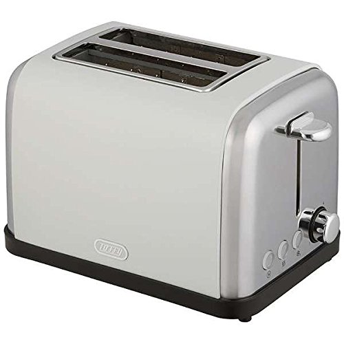An image of Toffy 900W White 6-Mode Long Slot Toaster | The Top Toasters