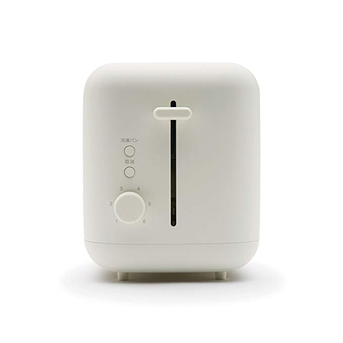 An image of Muji 900W White 6-Mode Compact Toaster