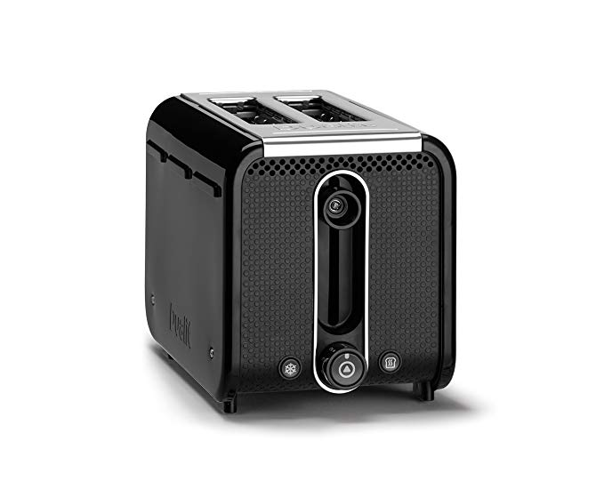 An image of Dualit 1200W 2-Slice Black 9-Mode Toaster