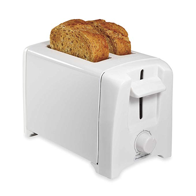 An image related to Proctor Silex 2-Slice White 7-Mode Wide Slot Toaster