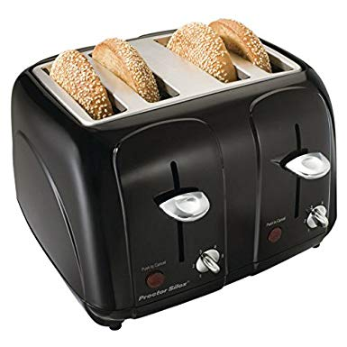 An image related to Proctor Silex 4-Slice 6-Mode Cool Touch Wide Slot Toaster