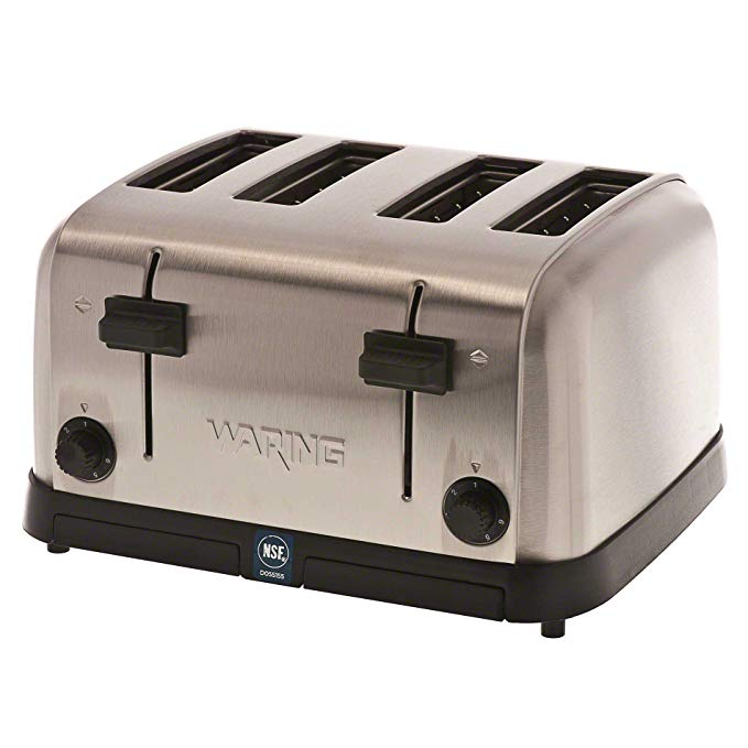 An image related to Waring Stainless Steel Classic 6-Mode Toaster