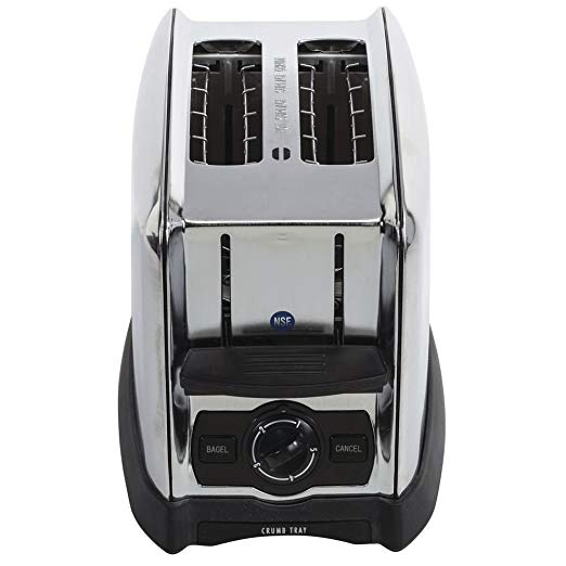 An image related to Proctor Silex 2-Slice Chrome Wide Slot Toaster