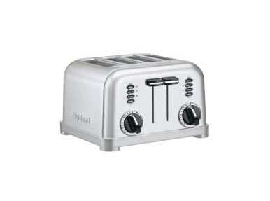An image of Cuisinart CPT180BCH Stainless Steel 4-Slice 6-Mode Wide Slot Toaster | The Top Toasters