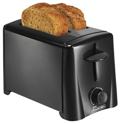 An image related to Proctor Silex 22612 2-Slice Black Wide Slot Toaster
