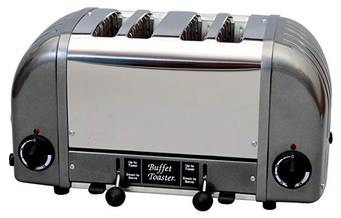 An image related to Dualit CBF-4M 1750W Gray Toaster