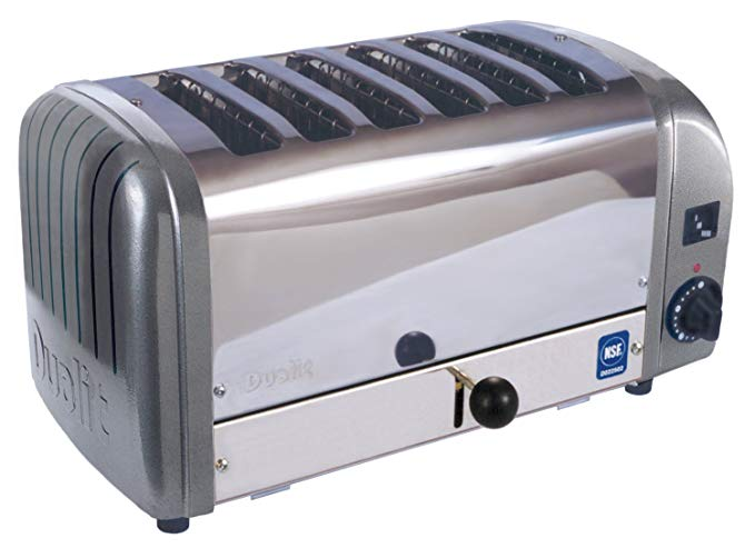 An image related to Dualit CTW-6M 2225W Gray Toaster