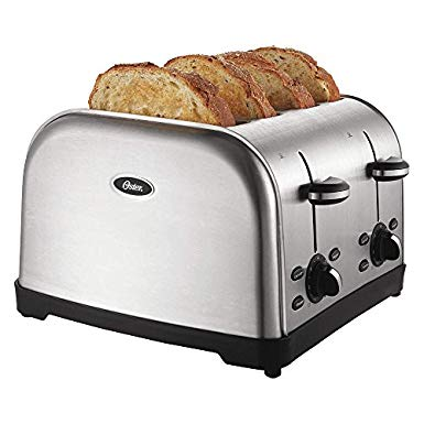 An image of Oster Stainless Steel Toaster | The Top Toasters
