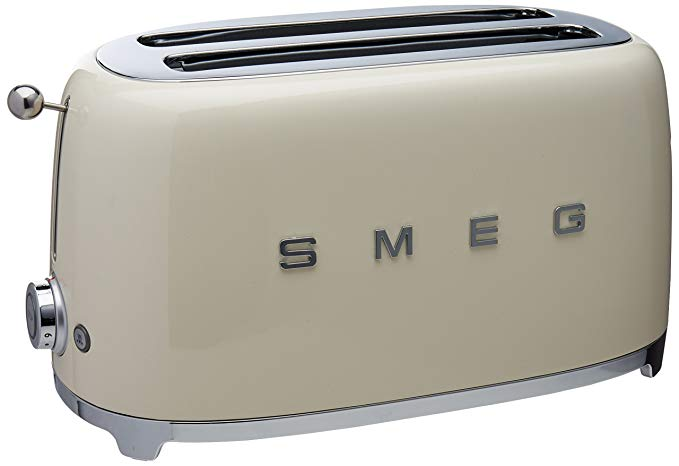 An image related to Smeg TSF02CRUS 4-Slice Cream Toaster