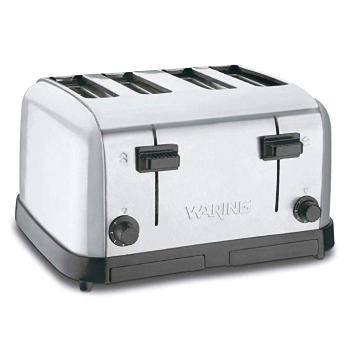 An image of Waring 800W Wide Slot Toaster