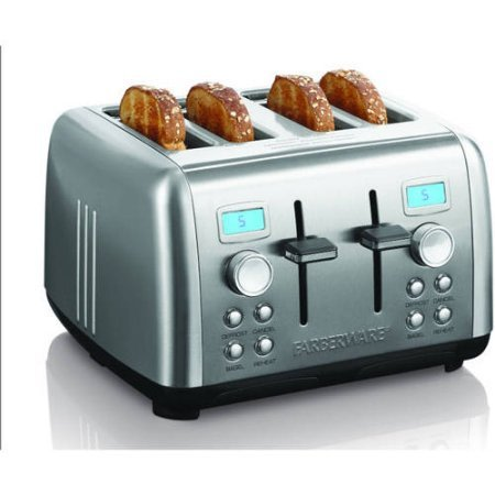 An image related to Farberware Stainless Steel 4-Slice Toaster
