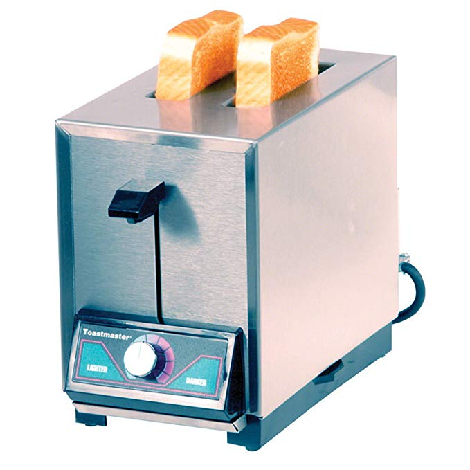 An image of Toastmaster Stainless Steel 2-Slice Toaster