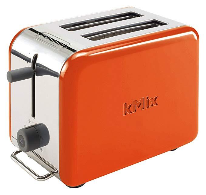 An image related to DeLonghi TTM020J-OR Orange 5-Mode Long Slot Toaster