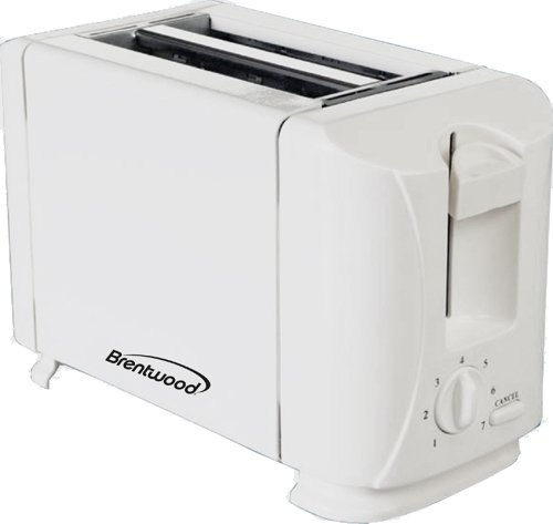An image of Brentwood Plastic 2-Slice 7-Mode Cool Touch Wide Slot Toaster