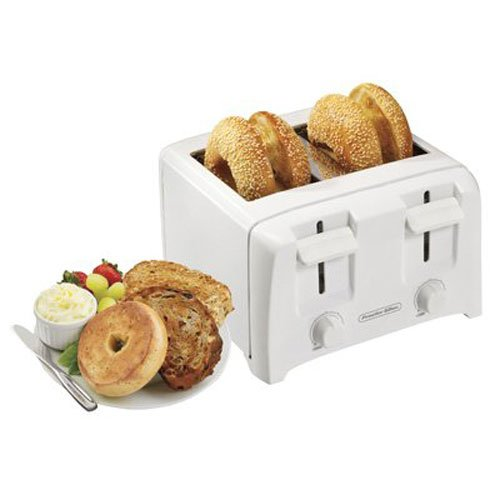 An image related to Proctor Silex 4-Slice Compact Wide Slot Toaster