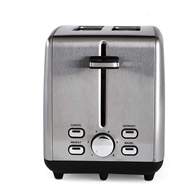 An image of Professional Series 925W Stainless Steel 2-Slice Wide Slot Toaster | The Top Toasters