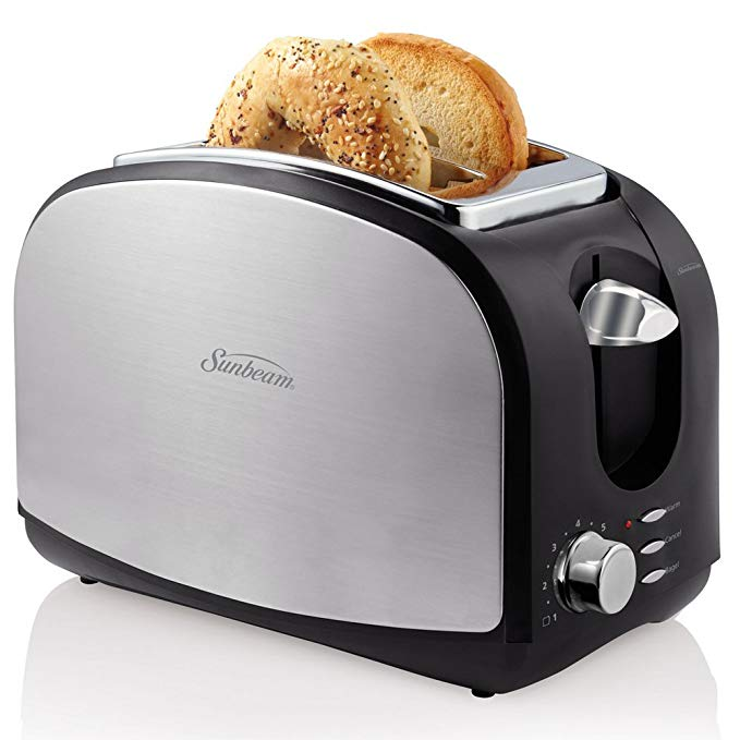 An image related to Sunbeam TSSBTRSB03 Stainless Steel 2-Slice Wide Slot Toaster
