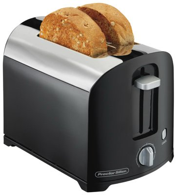 An image of Hamilton Beach 22622 2-Slice Cool Touch Wide Slot Toaster