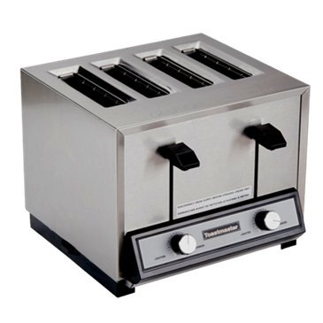 An image related to Toastmaster HT409-120C 2000W Stainless Steel 4-Slice Long Slot Toaster