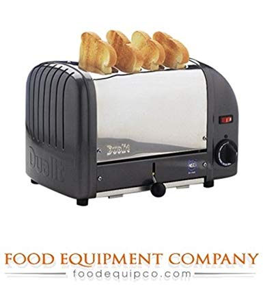 An image of Dualit CTW-4M(220) 2350W Stainless Steel Toaster | The Top Toasters