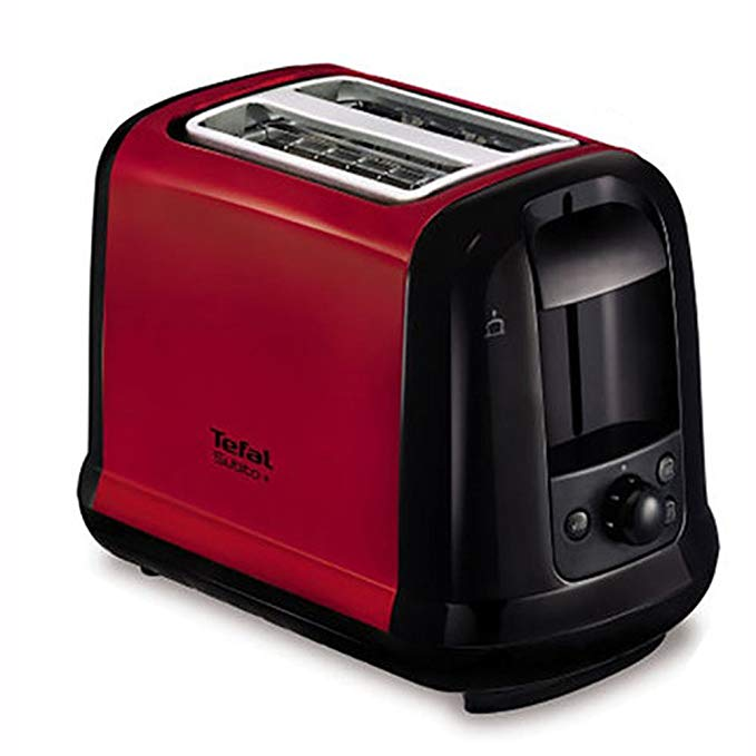 An image related to Tefal 720W 2-Slice Red Toaster