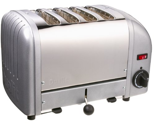 An image related to Dualit Stainless Steel 4-Slice Classic Metal Wide Slot Toaster