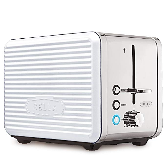 An image related to BELLA 2-Slice Compact Wide Slot Toaster