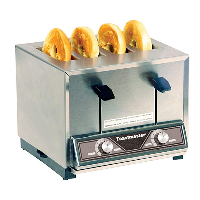 An image of Toastmaster BTW09 Stainless Steel 4-Slice 7-Mode Toaster