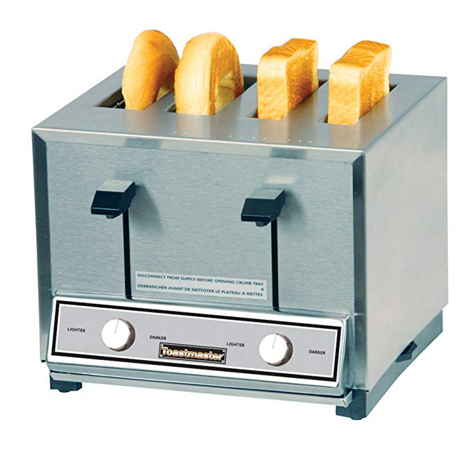 An image of Toastmaster HT424 Stainless Steel 7-Mode Compact Toaster