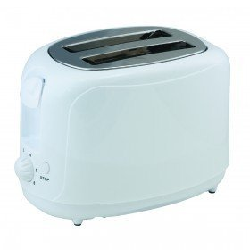 An image of GrandGadgets 700W Stainless Steel 2-Slice Cool Touch Wide Slot Toaster | The Top Toasters