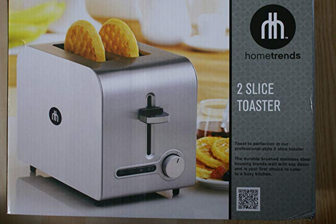 An image of Hometrends KT3201 Stainless Steel Gray 6-Mode Toaster   The Top Toasters