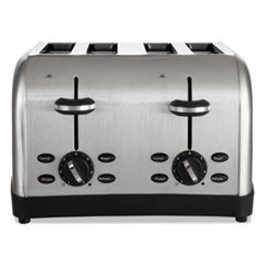 An image related to Sunbeam 4-Slice Gray Wide Slot Toaster