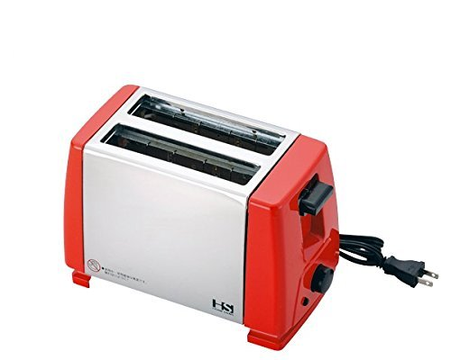 An image of Akebono Industry Stainless Steel Red Toaster