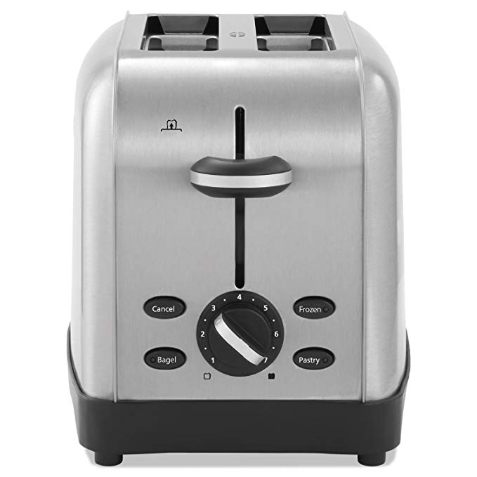 An image of Oster Stainless Steel 2-Slice 7-Mode Wide Slot Toaster