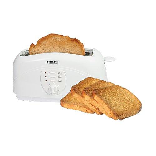 An image of Nikai 1400W 4-Slice Toaster