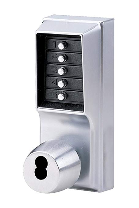 An image of Simplex 1021B26D Satin Chrome Lock | Door Lock Guide