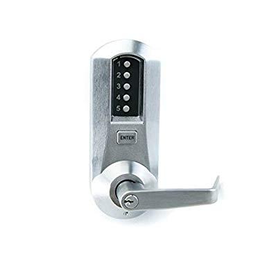 An image of Simplex 5021XSWL26D Satin Chrome Lock | Door Lock Guide