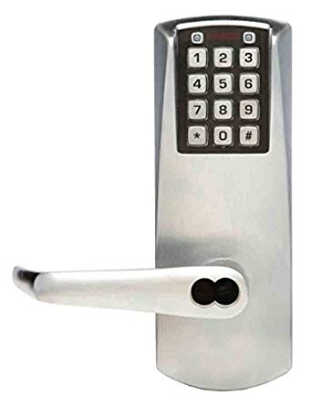 An image related to Simplex E2031BLL-626-41 Satin Chrome Lock
