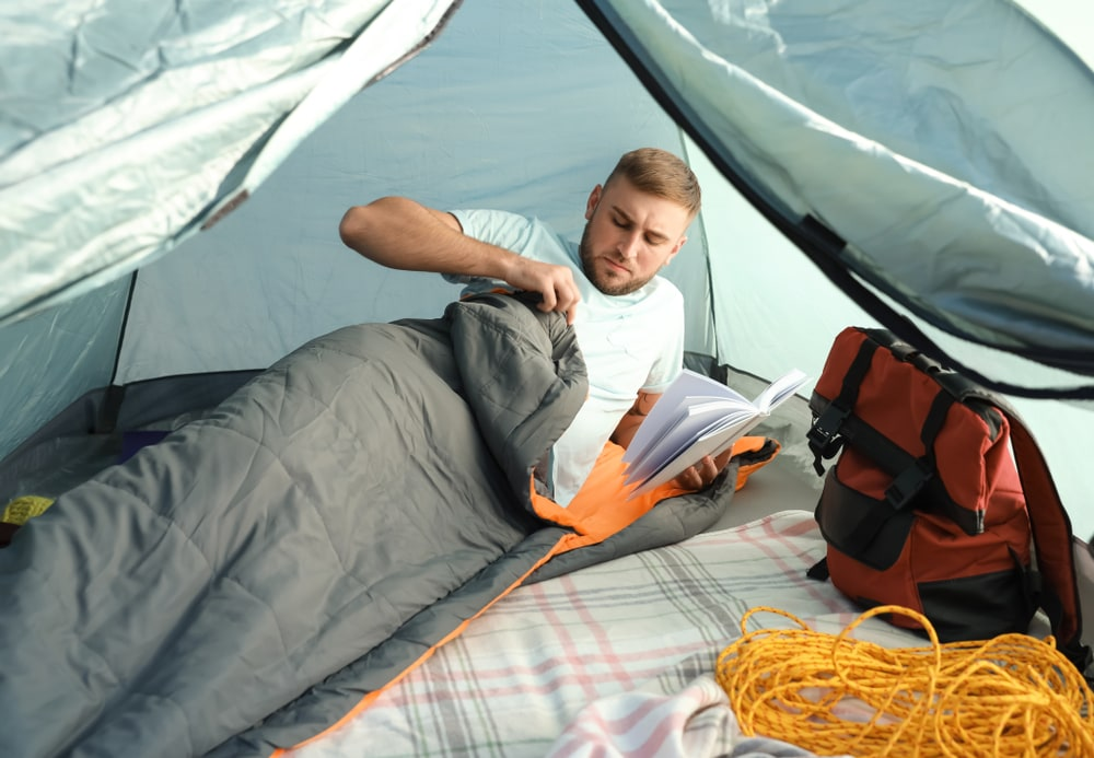 An image related to Best Large Barrel Sleeping Bags