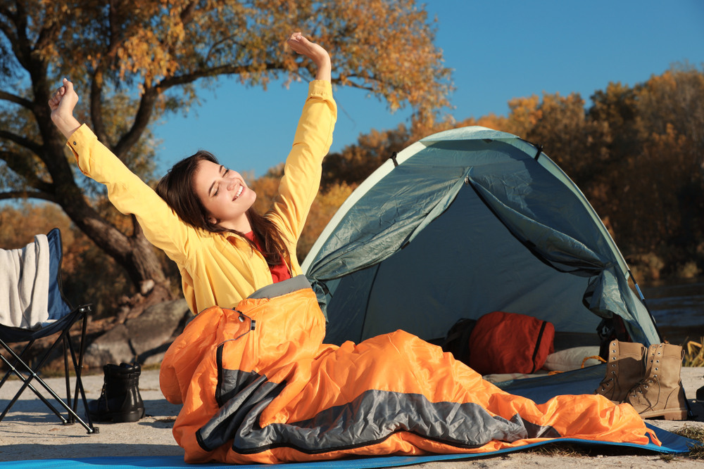 An image related to Best Men's Barrel Sleeping Bags