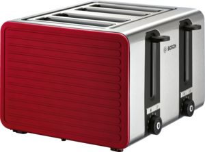 An image of Bosch TAT7S44GB 1800W Stainless Steel Toaster