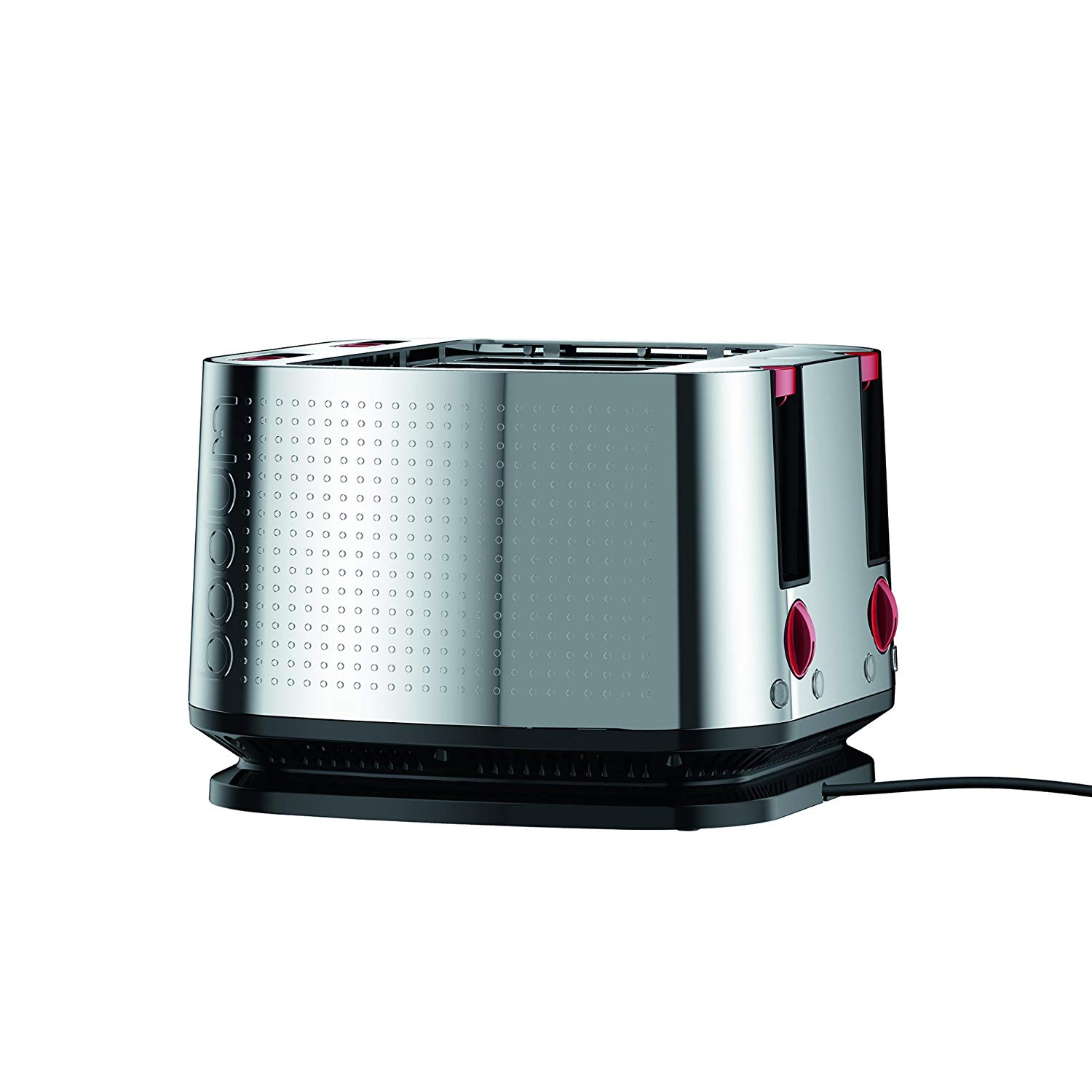 An image related to Bodum 11840-16US-4 1600W Stainless Steel Modern Toaster