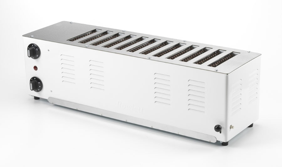 An image related to Rowlett 6300W Stainless Steel White Toaster